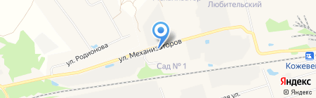 База металлопроката на карте Богородска