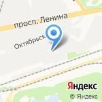 Кетон на карте Дзержинска