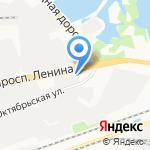 Позитив на карте Дзержинска