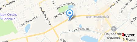 Судебный участок Богородского судебного района Нижегородской области на карте Богородска