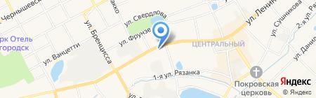 Аптека плюс на карте Богородска