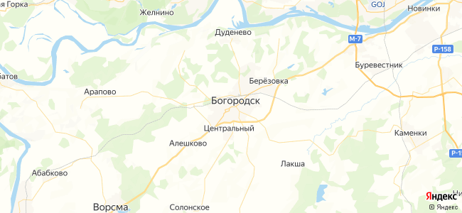 1а маршрутка в Богородске