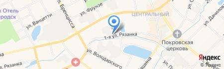 Богородская обувная фабрика на карте Богородска