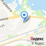 Ассортимент-НН на карте Дзержинска