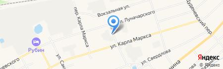 Автопровод на карте Богородска