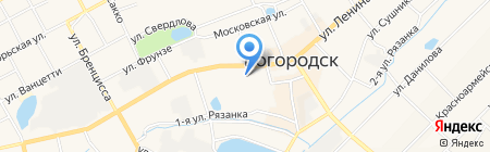 Банк Российский капитал на карте Богородска