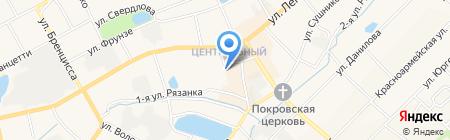 Почтовое отделение №600 на карте Богородска