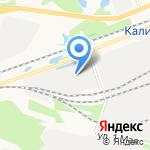 Корунд на карте Дзержинска