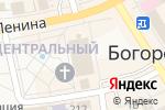 Схема проезда до компании Spar в Богородске