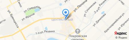 Магазин цветов на ул. Ленина на карте Богородска