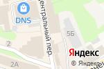 Схема проезда до компании Киоск по продаже бытовой химии в Богородске