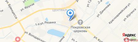 Киоск по продаже бытовой химии на карте Богородска