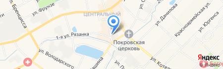 Магазин фейерверков на карте Богородска