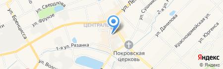 ЦентрОбувь на карте Богородска