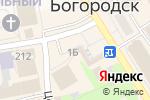 Схема проезда до компании Телефон.ру в Богородске