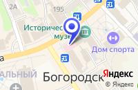 Схема проезда до компании МП АПТЕКА № 23 в Богородске