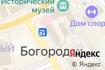 Схема проезда до компании Компус в Богородске