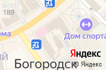 Схема проезда до компании Синергия в Богородске