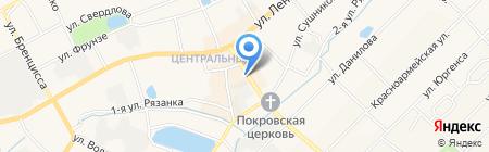 Киоск фастфудной продукции на карте Богородска