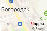 Схема проезда до компании Волго-Вятский банк Сбербанка России в Богородске