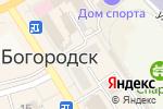 Схема проезда до компании Жемчужина в Богородске