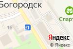 Схема проезда до компании Магазин мужской одежды в Богородске