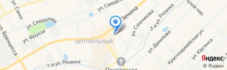 Спартак на карте Богородска
