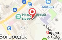 Схема проезда до компании Спартак в Богородске