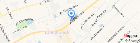 Покровский на карте Богородска