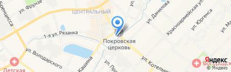 Поликарбонат НН на карте Богородска