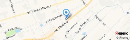 Средняя общеобразовательная школа №3 на карте Богородска