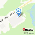 А.С. И ПАЛИТРА на карте Дзержинска