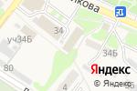 Схема проезда до компании Шиномонтажная мастерская в Богородске