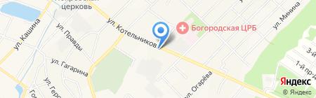 Детский сад №2 им. Юргенса на карте Богородска