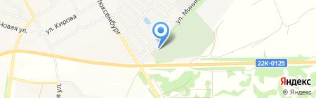 Ново-Богородское на карте Богородска