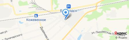 Агентство технических систем безопасности на карте Богородска