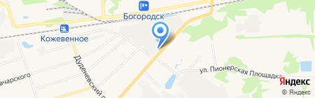Проф Авто на карте Богородска