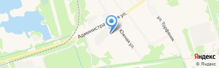 Чернораменское машиностроительное предприятие на карте Гидроторфа