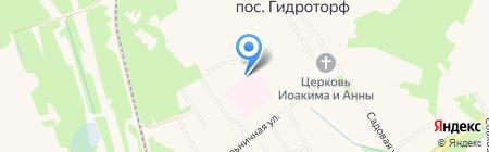 Чернораменская амбулатория на карте Гидроторфа