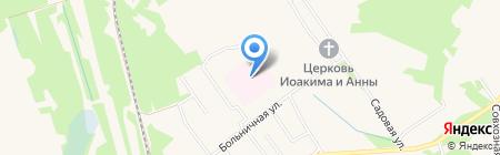 Чернораменская больница на карте Гидроторфа