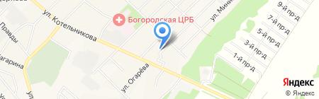 Детский сад №10 на карте Богородска