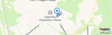 Зефир на карте Гидроторфа