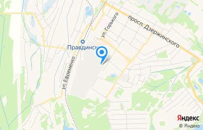 Местоположение на карте пункта техосмотра по адресу Нижегородская обл, г Балахна, ул Горького, д 34