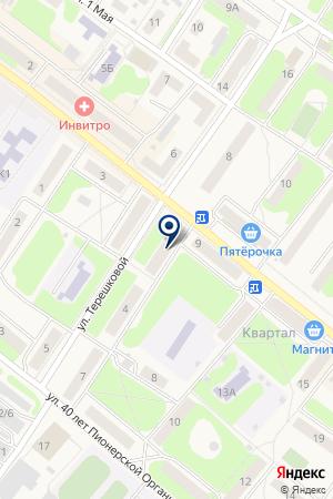 АПТЕКА МИЛА-5 на карте Балахны
