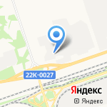 Промарматура на карте Дзержинска