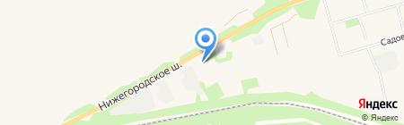 Богородский завод строительных материалов на карте Богородска