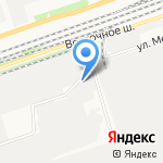 Евродом на карте Дзержинска