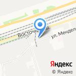 ПИРС на карте Дзержинска