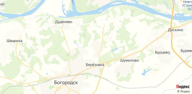 Кожевенное на карте