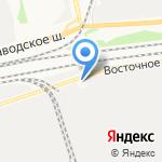 Капролактам-Дзержинск на карте Дзержинска